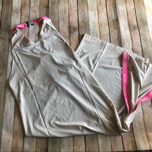 Puma Xtreme tape dress in Cement new with tags